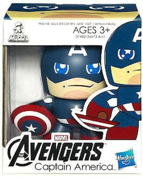 Marvel Avengers Mini Muggs Captain America Vinyl Figure