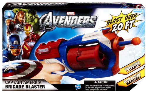 Marvel Avengers Captain America Brigade Blaster Roleplay Toy