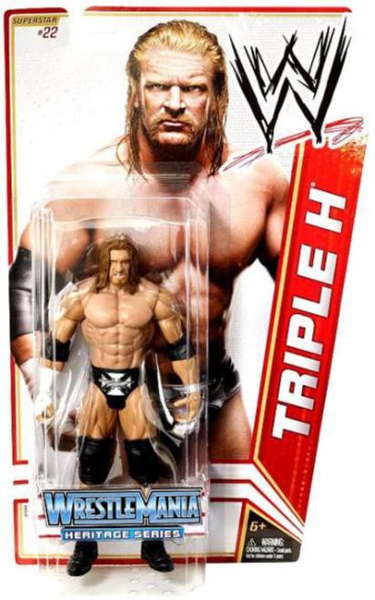 WWE Wrestling Series 16 Triple H Action Figure #22