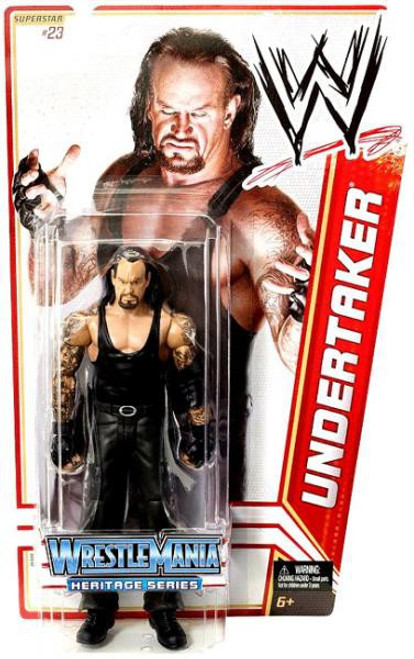 WWE Wrestling Series 16 Undertaker Action Figure #23