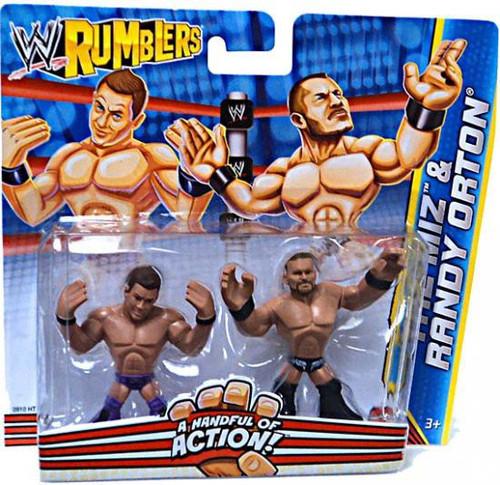 WWE Wrestling Rumblers Series 2 The Miz & Randy Orton Mini Figure 2-Pack