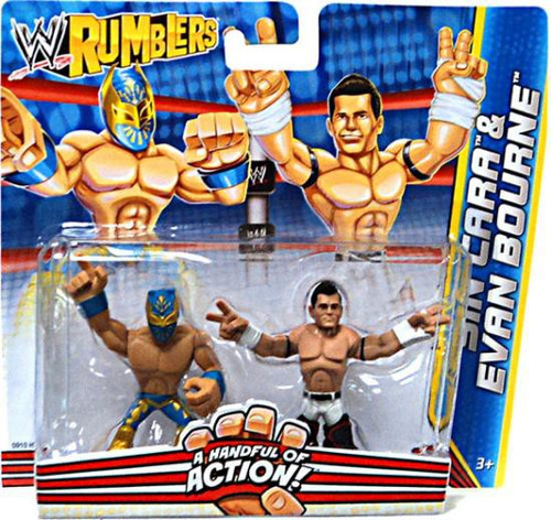 WWE Wrestling Rumblers Series 2 Sin Cara & Evan Bourne Mini Figure 2-Pack