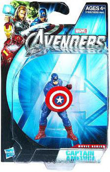 Marvel Avengers Movie Series Captain America Action Figure