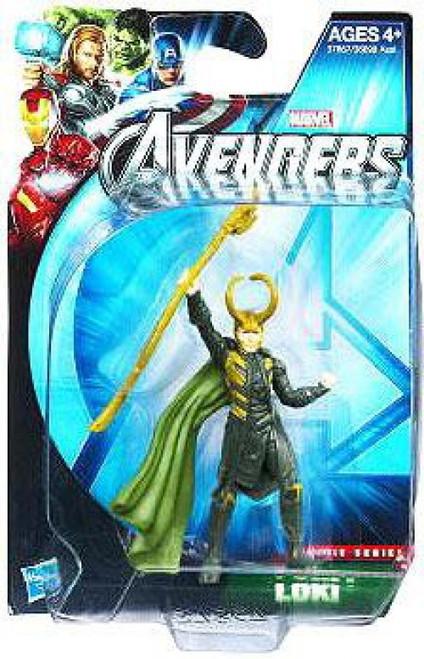 Marvel Avengers Movie Series Loki Action Figure