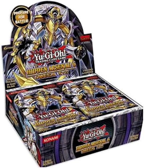YuGiOh Hidden Arsenal 6: Omega Xyz Booster Box [Sealed]