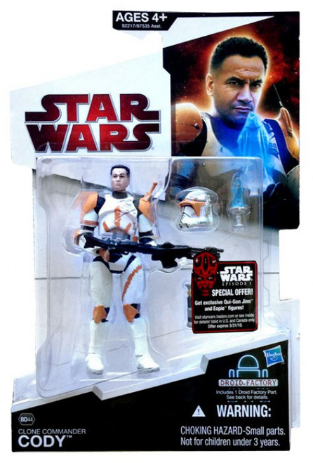 Star Wars Revenge of the Sith Legacy Collection 2009 Droid Factory Clone Commander Cody Action Figure