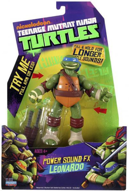 Teenage Mutant Ninja Turtles Nickelodeon Power Sound FX Leonardo Action Figure