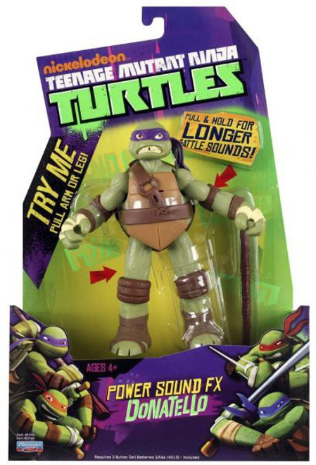 Teenage Mutant Ninja Turtles Nickelodeon Power Sound FX Donatello Action Figure