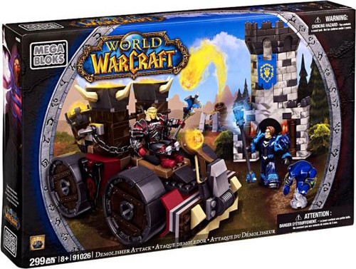 Mega Bloks World of Warcraft Demolisher Attack Set #91026