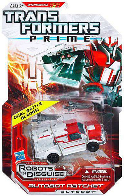 Transformers Prime Robots in Disguise Autobot Ratchet Deluxe Action Figure