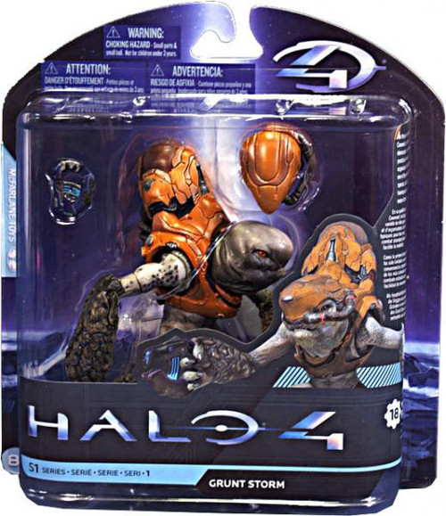 McFarlane Toys Halo 4 Series 1 Grunt Storm Action Figure