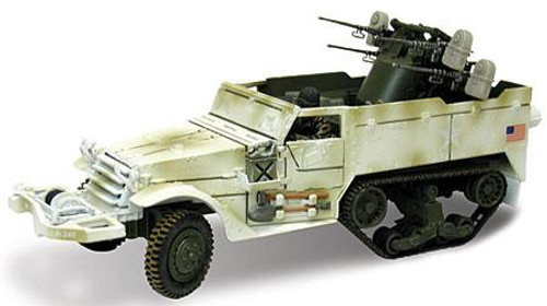 Forces of Valor Action Series U.S. M16 Multiple Gun Motor Carriage [Winter Camo] [Damaged Package]