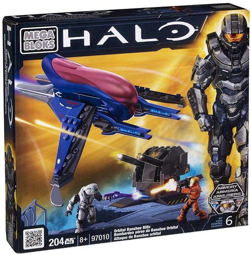 Mega Bloks Halo Orbital Banshee Blitz Set #97010