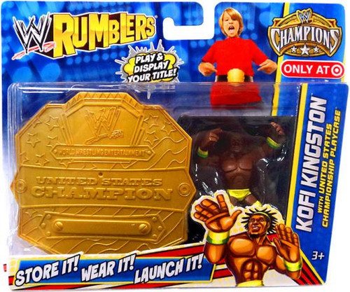 WWE Wrestling Rumblers Champions Kofi Kingston Exclusive Mini Figure