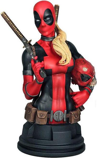 Marvel Lady Deadpool Mini Bust