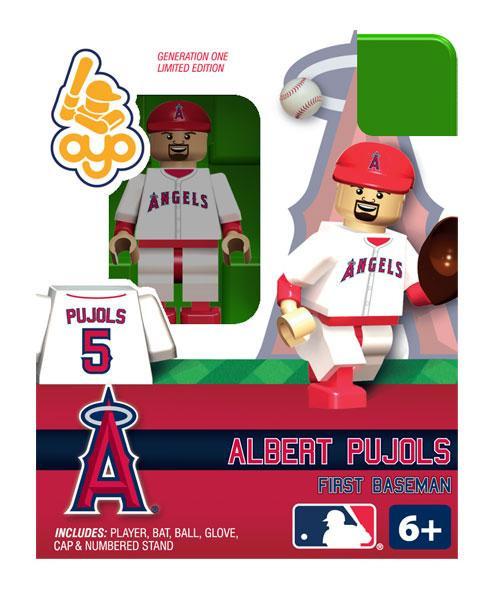 St. Louis Cardinals MLB Generation One Albert Pujols Minifigure [Cardinals]