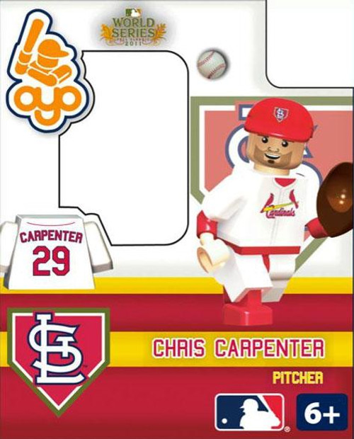 St. Louis Cardinals MLB 2011 World Series Chris Carpenter Minifigure