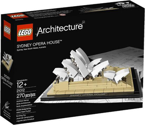 LEGO Architecture Sydney Opera House Set #21012