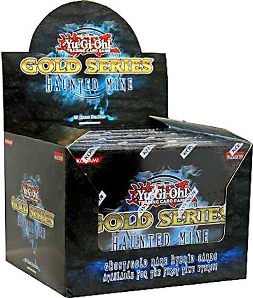 YuGiOh Gold Series 5 Haunted Mine Booster Box [5 Packs] [Sealed]