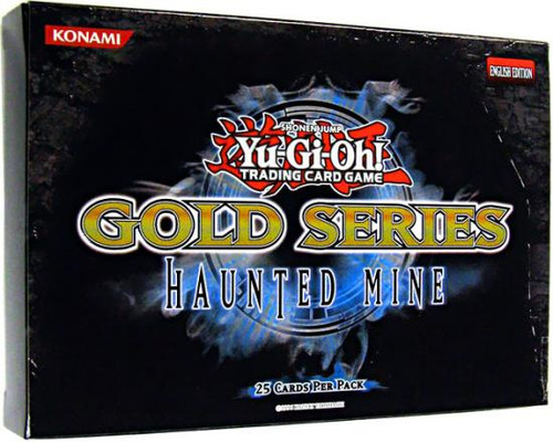 YuGiOh Gold Series 5 Haunted Mine Booster Pack