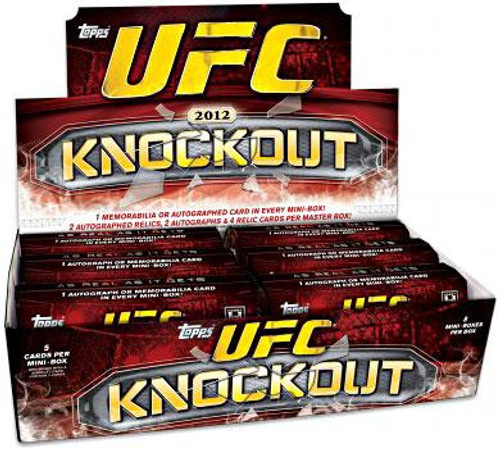 UFC 2012 Knockout Trading Card Box