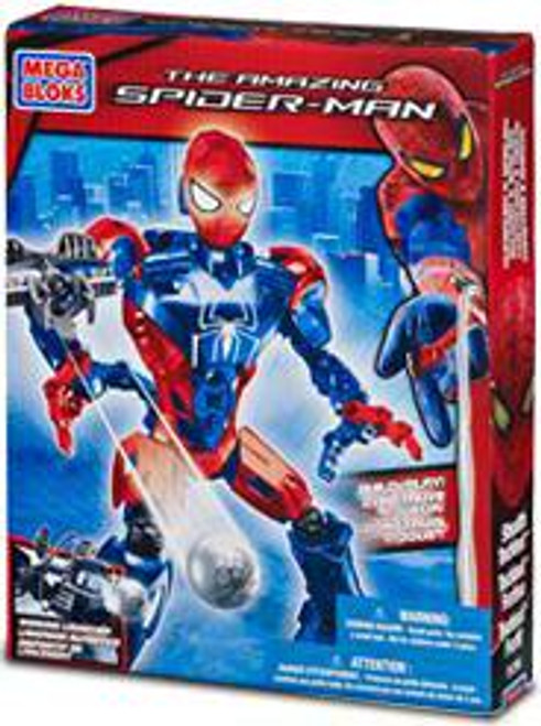 Mega Bloks Amazing Spider-Man Stealth Techbot Set #91296