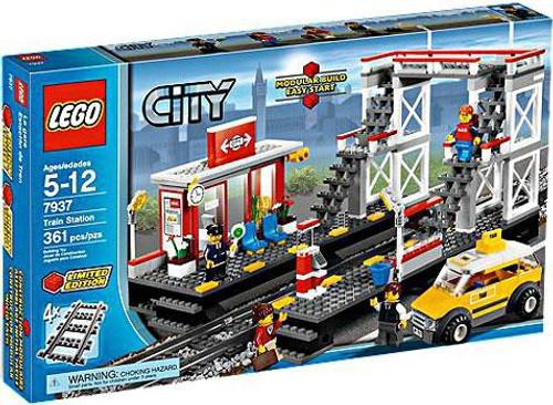 LEGO City Train Station Exclusive Set #7937