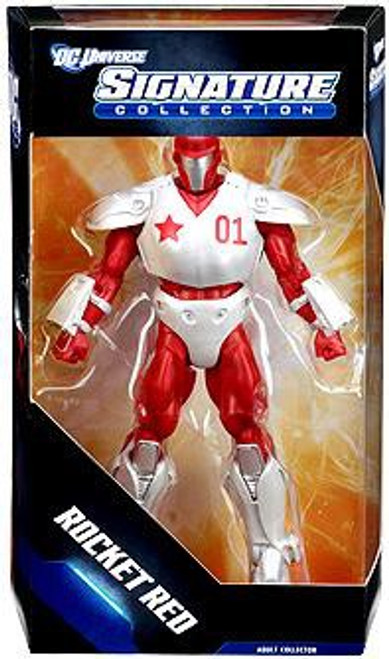 DC Universe Club Infinite Earths Signature Collection Rocket Red Exclusive Action Figure