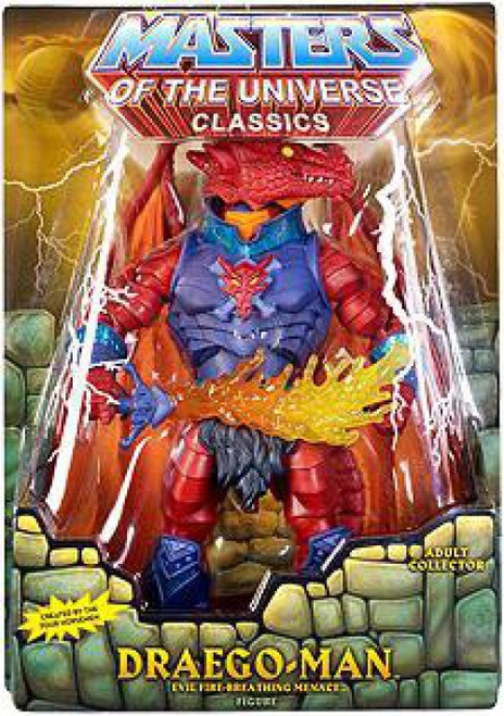 Masters of the Universe Classics Club Eternia Draego-Man Exclusive Action Figure