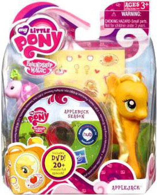 My Little Pony Friendship is Magic DVD Packs Applejack Figure