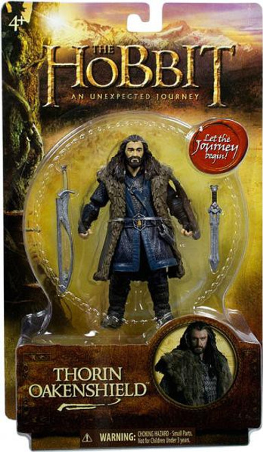 The Hobbit An Unexpected Journey Thorin Oakenshield Action Figure [6 Inch]
