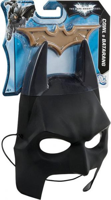 Batman The Dark Knight Rises Cowl & Batarang Roleplay Toy
