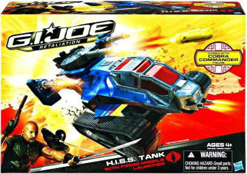 GI Joe Retaliation H.I.S.S. Tank Action Figure Vehicle