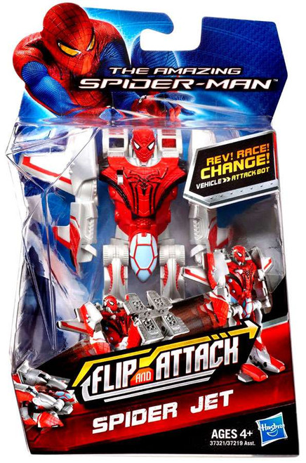 The Amazing Spider-Man Flip and Attack Spider Jet Action Figure