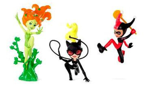 DC Polly Pocket Villains Exclusive Action Figure Set