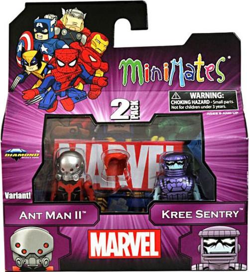 Marvel Minimates Series 44 Ant Man II & Kree Sentry Minifigure 2-Pack