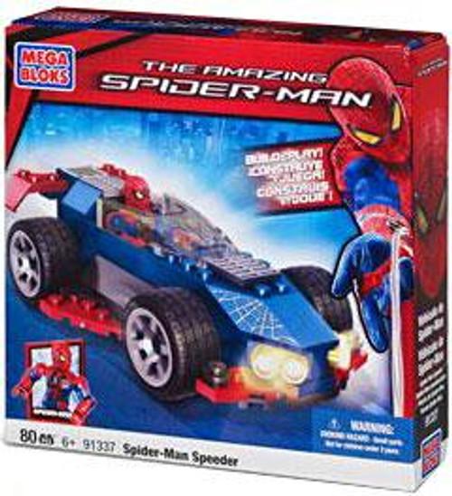 Mega Bloks Amazing Spider-Man Spider-Man Speeder Set #91337