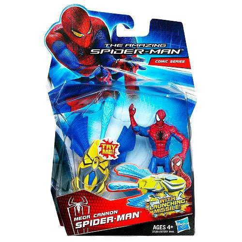 The Amazing Spider-Man Comic Series Mega Cannon Spider-Man Action Figure