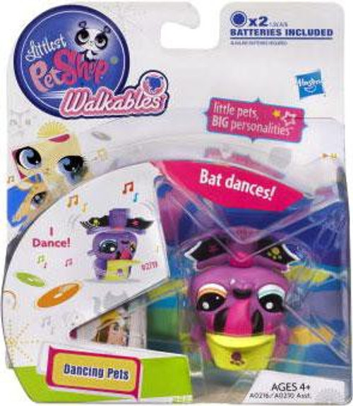 Littlest Pet Shop Walkables Dancing Pets Bat Figure
