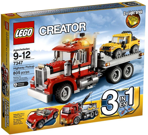LEGO Creator Highway Pickup Set #7347