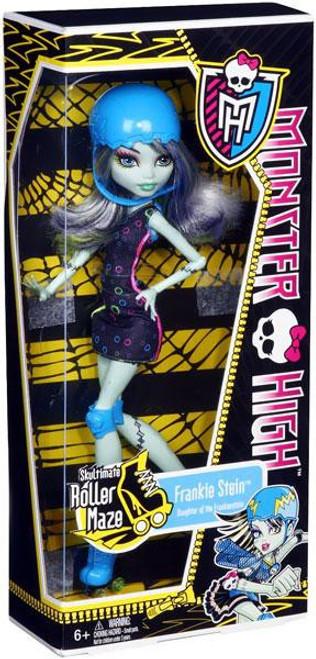 Monster High Skultimate Roller Maze Frankie Stein 10.5-Inch Doll