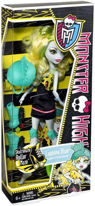 Monster High Skultimate Roller Maze Lagoona Blue 10.5-Inch Doll