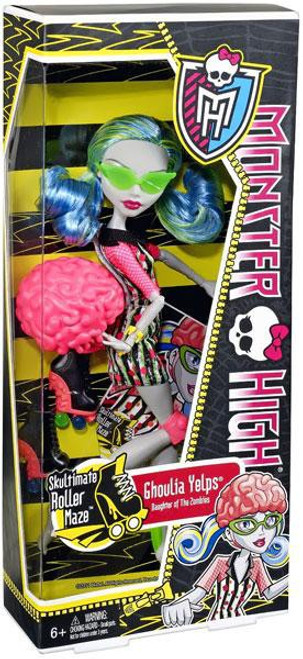 Monster High Skultimate Roller Maze Ghoulia Yelps 10.5-Inch Doll