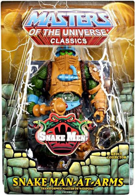 Masters of the Universe Classics Snake Men Man-At-Arms Exclusive Action Figure [Snake]