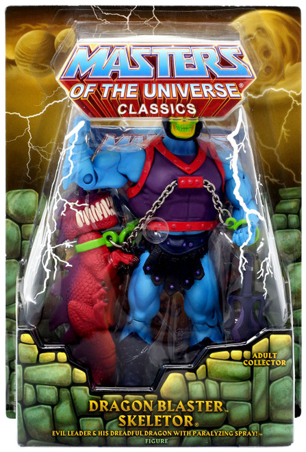 Masters of the Universe Classics Club Eternia Skeletor Exclusive Action Figure [Dragon Blaster]