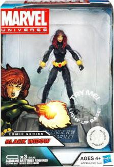 Marvel Avengers Comic Series Black Widow Exclusive Action Figure