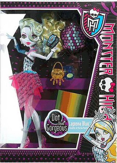 Monster High Dot Dead Gorgeous Lagoona Blue 10.5-Inch Doll