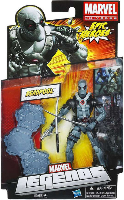 Marvel Legends 2012 Series 3 Epic Heroes Deadpool Action Figure