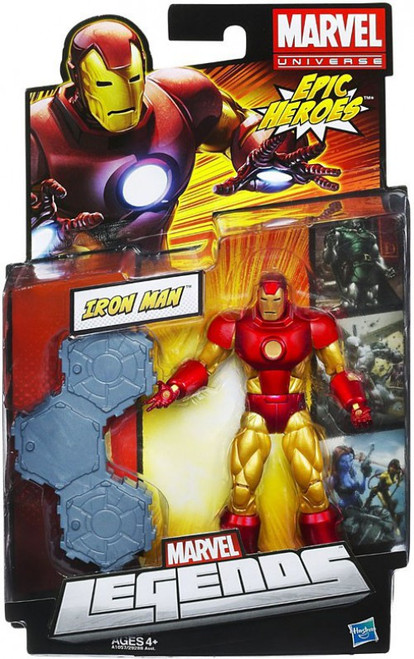 Marvel Legends 2012 Series 3 Epic Heroes Iron Man Action Figure