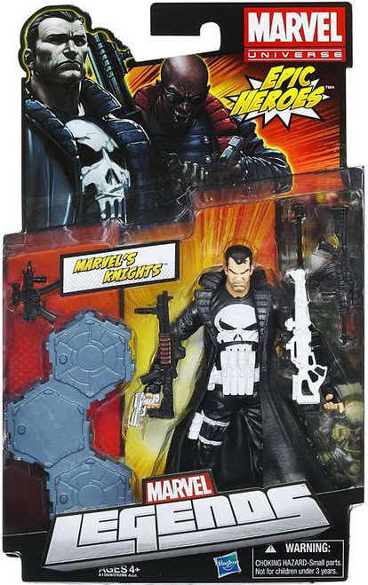Marvel Legends 2012 Series 3 Epic Heroes Marvel's Knights [Punisher] Action Figure